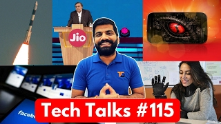 Tech Talks #115 Jio in MWC, ISRO Record, Mi Mix II, Flexible Electronics, Facebook App