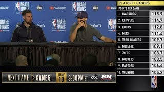 Stephen Curry & Klay Thompson Press Conference | NBA Finals Game 4