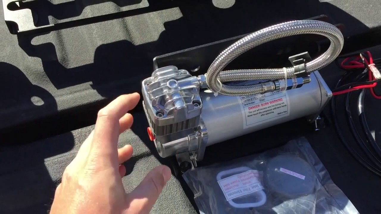 2016 Ram 2500 Mega Cab Kleinn Air Horn System Install Youtube Viair Wiring Diagram