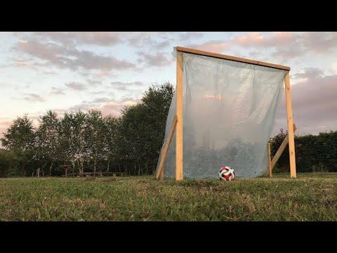 DIY Cheap Easy Wooden Soccer Goal