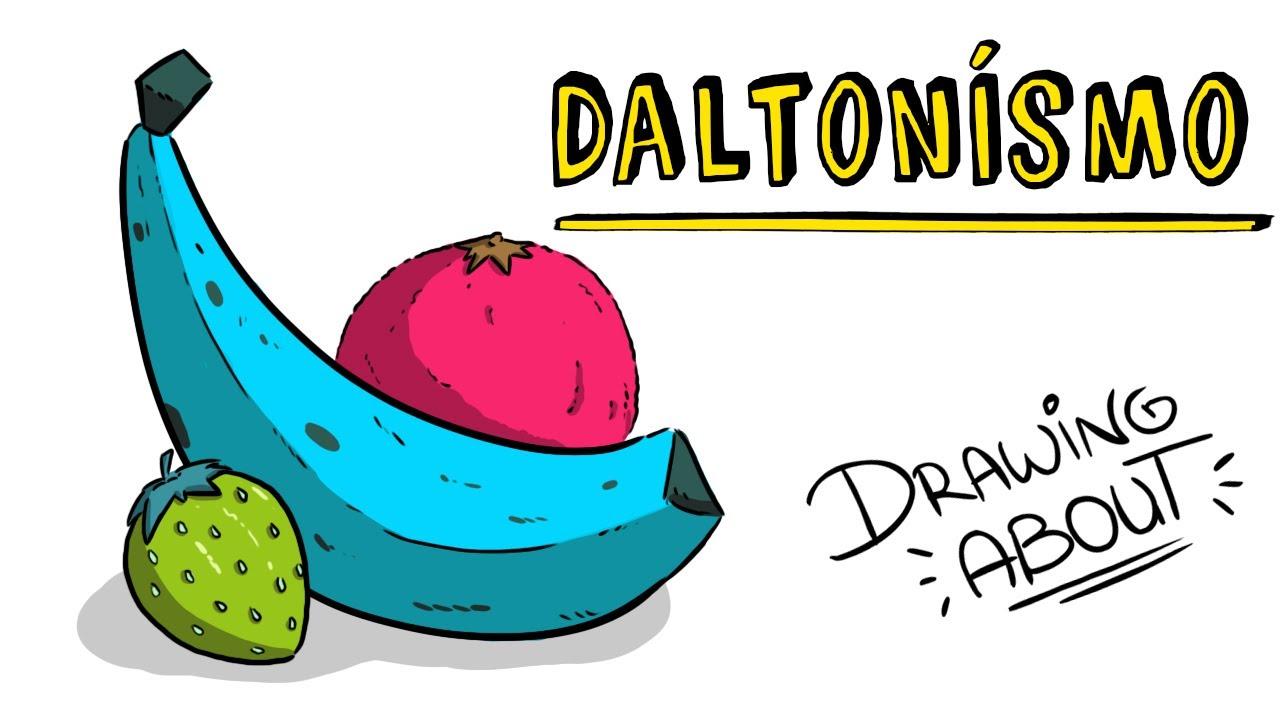¿QUÉ ES EL DALTONISMO? | Draw My Life
