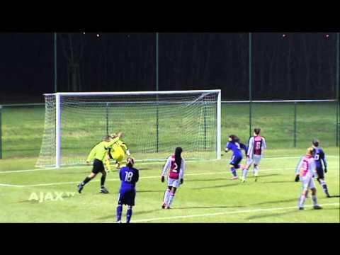 Highlights Anderlecht - Ajax Vrouwen