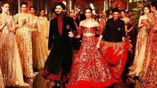 Deepika Padukone and Fawad Khan walks the ramp for Manish Malhotra, watch video | Filmibeat
