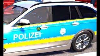 Polizei Auto Spiel Polizei Zeichentrick für Kider