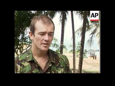 SIERRA LEONE: SOLDIERS ESCAPE