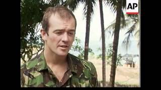 SIERRA LEONE: SOLDIERS ESCAPE