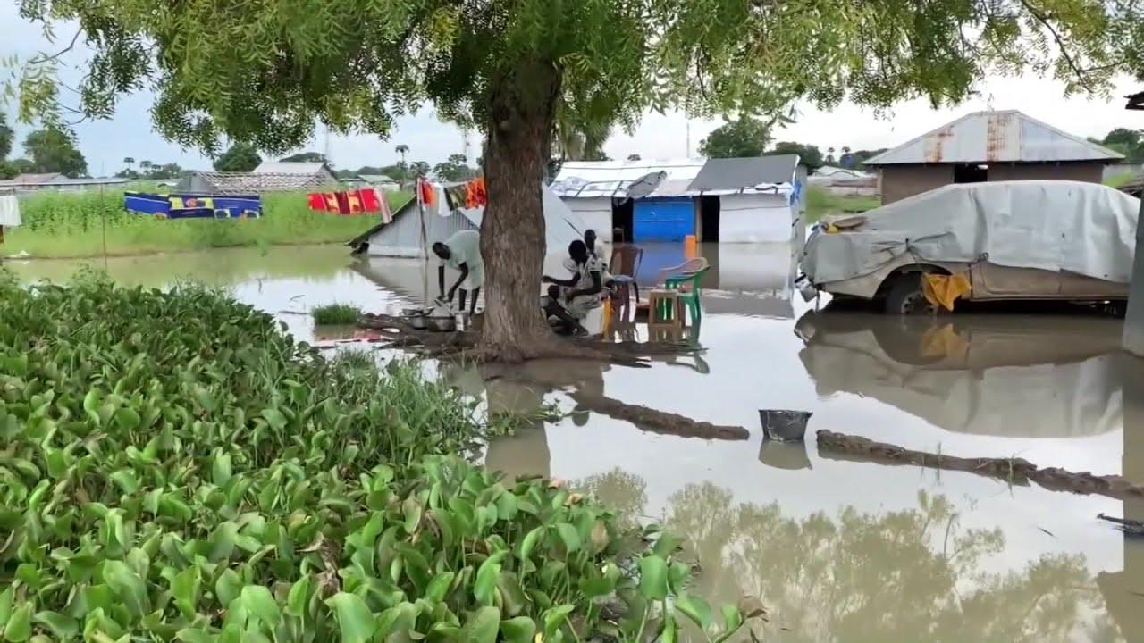 Download Mummunar ambaliyar ruwa a Sudan ta Kudu- Labaran Talabijin na 22/10/21