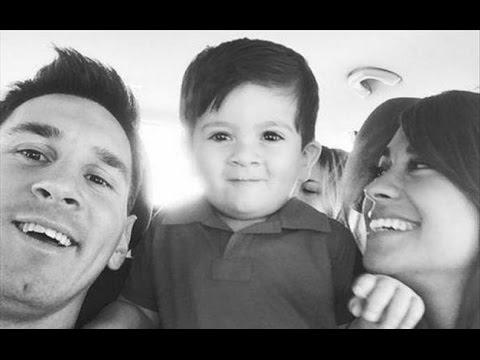 Lionel Messi Com Esposa