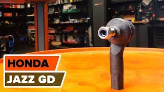Montáž Riadiaca tyč HONDA JAZZ: video príručky