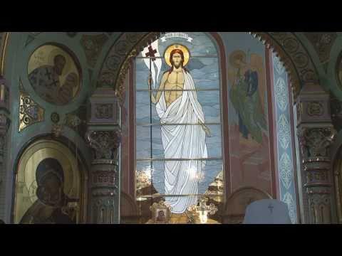 Великое освящение Троицкого собора в Щелкове