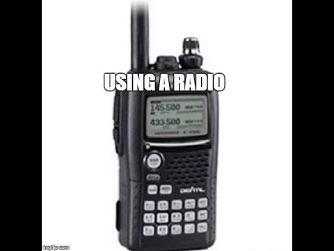 Basic How To Talk On A Police or Ops Radio - Mistakes People Make