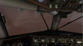 Bad Weather Flight from Seattle to Vancouver (FSX) Windy,turbulent and very low visibility!!!