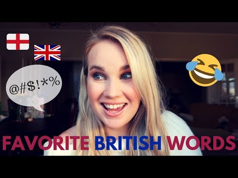 American Girl's Favorite British Words  | American Living In Europe