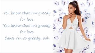 Ariana Grande Greedy Lyrics