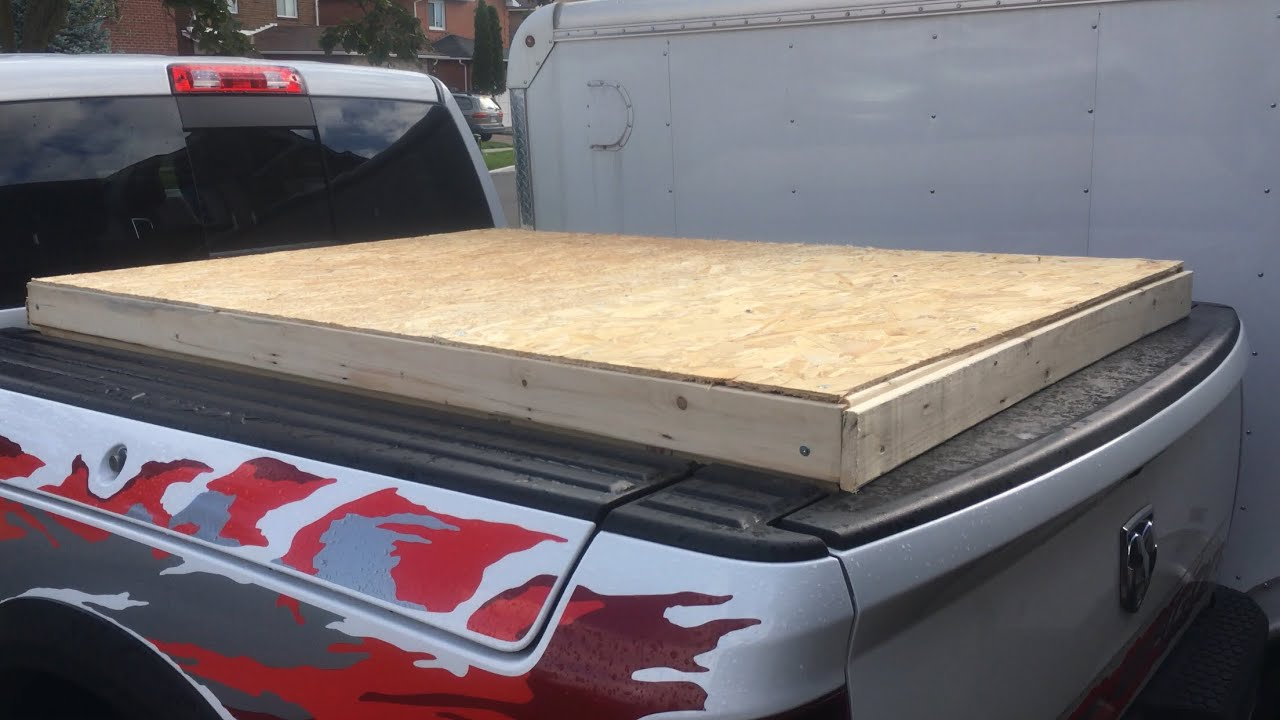 Temporary Truck Bed Cover