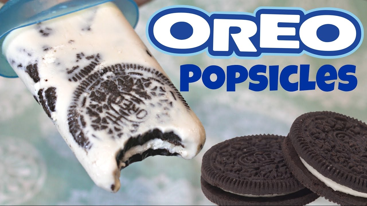 Oreo Popsicles Easy Kid Friendly Recipe  Tasty Delights  YouTube