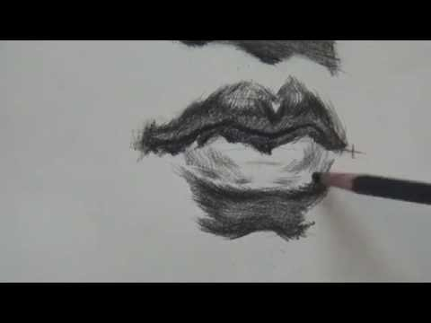 how to draw a mouth youtube