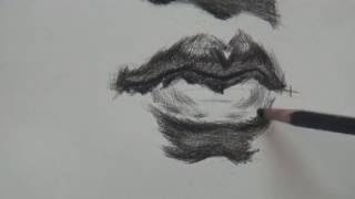 How to Draw Mouth & Lips #2