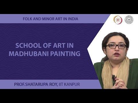 School of Art in Madhubani Painting