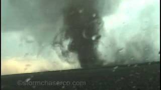 Multiple close-range tornadoes from western Kansas!