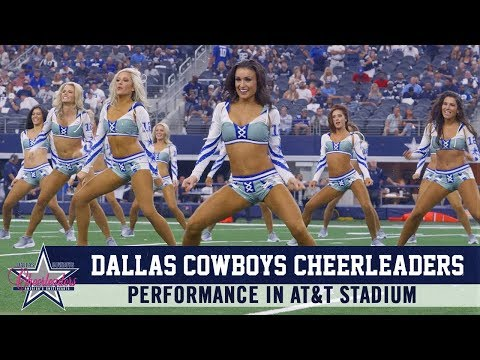 Dallas Cowboys Cheerleaders 2019 Gameday Performance | Dallas Cowboys 2019