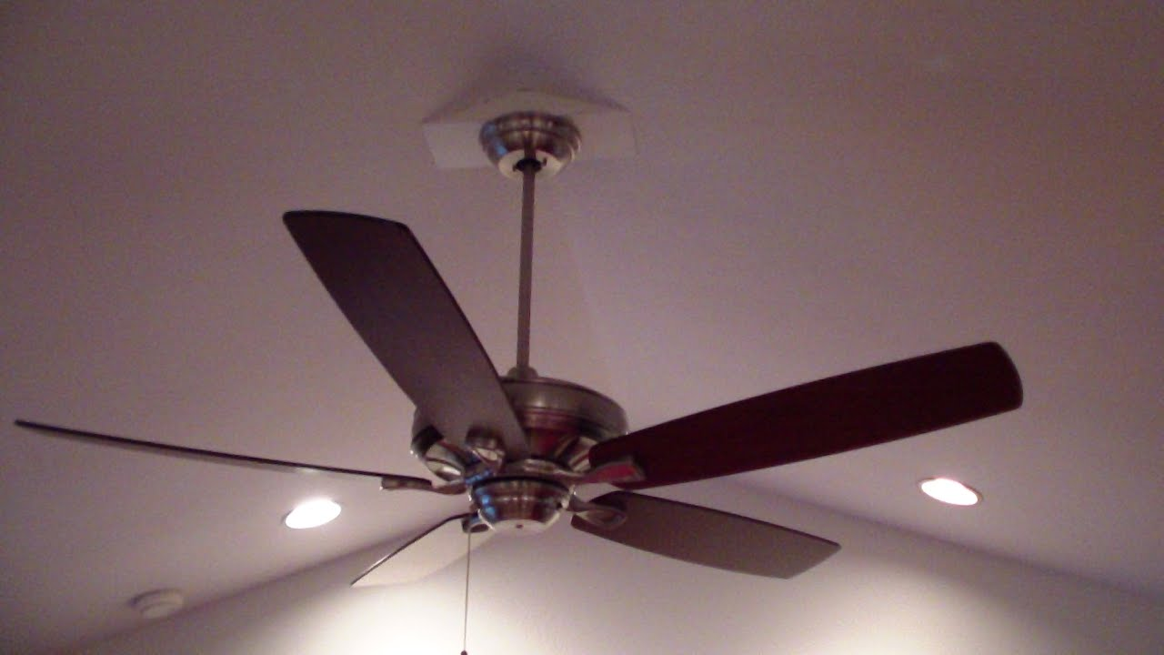 Cathedral Ceiling Fan Installation Instructions - YouTube