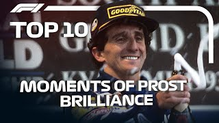 Top 10 Moments Of Alain Prost Brilliance
