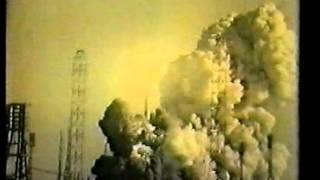 Аварии при запуске ракет