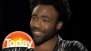 Donald Glover on playing Lando Calrissian