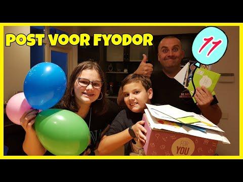 POST VOOR FYODOR ZIJN 11DE VERJAARDAG, DEEL 1 - Familie Vlog 1207
