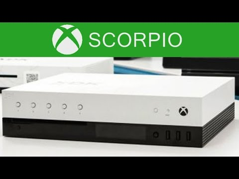 XBOX SCORPIO NEW IMAGES + DETAILS - DEV KIT BOX REVEALED + VR CONFIRMED! (PROJECT SCORPIO)