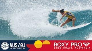 Tyler Wright's 9.50 on Opening Wave - Roxy Pro Gold Coast 2017 Round Two, Heat 3