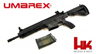 Umarex Heckler & Kock HK417D Med 100 Skuds Magasin
