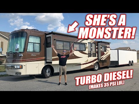 We Bought a GIANT RV! Her Name is Monica, She Loves Boost! *Full Tour*