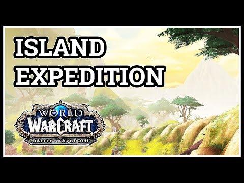 Island Expedition Verdant Wilds WoW Alliance