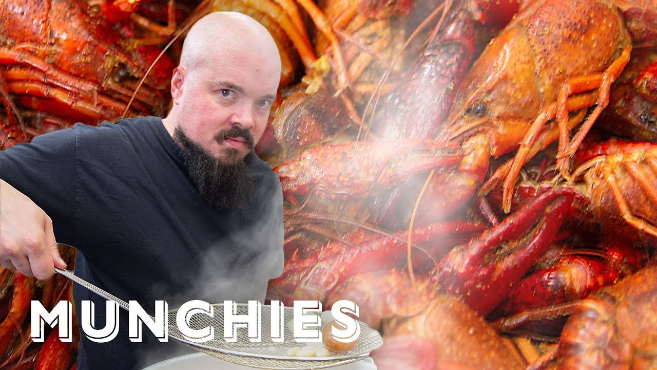 How To Make a Crawfish Boil with Isaac Toups
