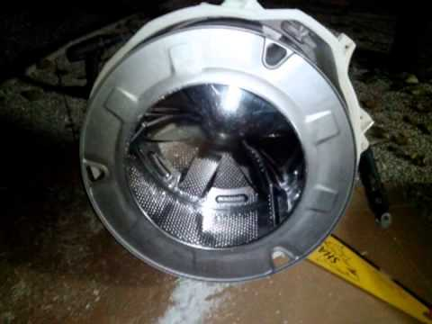 Changing the bearing on my Indesit washing machine