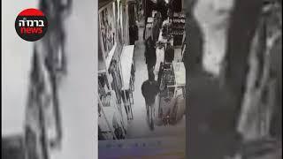 גנבי פלאפונים בקניון / צילום מצלמת אבטחה / ברנז'ה חדשות