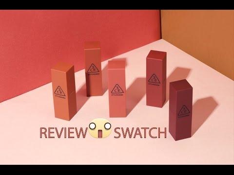 rƯ-review-♡-swatch-son-3ce-mood-recipe-matte-lip-color