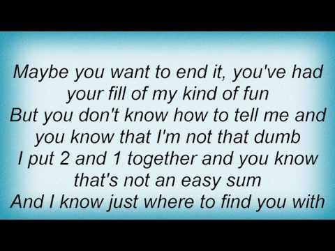 Robert Cray - Smoking Gun Lyrics