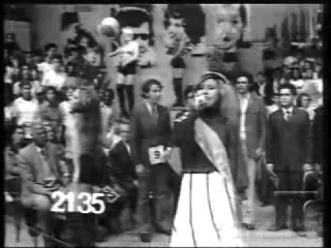Chacrinha na novela Mulheres de Areia  TV Tupi, 1973
