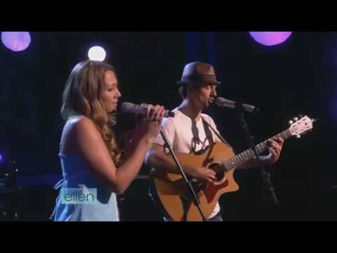 Lucky - Jason Mraz & Colbie Caillat (Live On Ellen Degeneres Show)