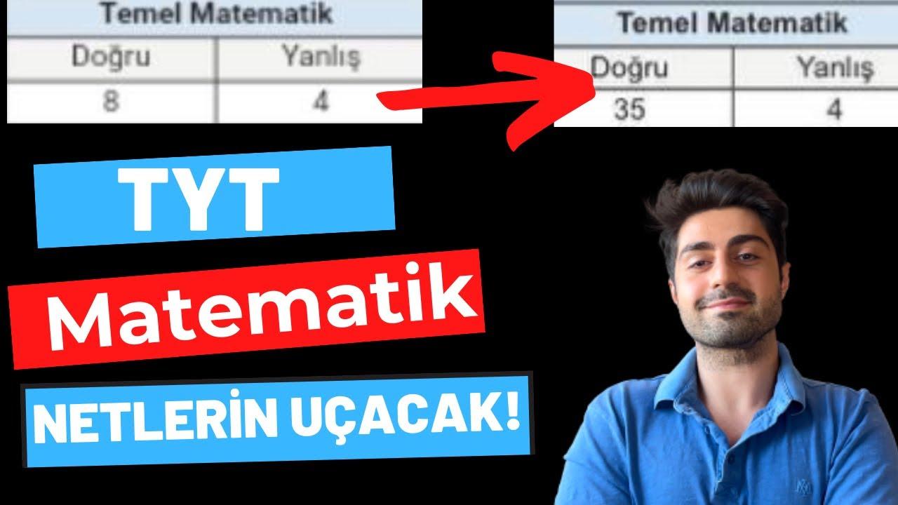 TYT Matematik Netlerinizi UÇURALIM (YKS Matematik)