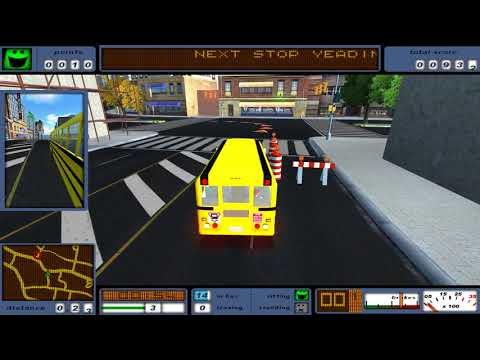 Bus Driver #11 Old Town Bells School 🎮 James Games