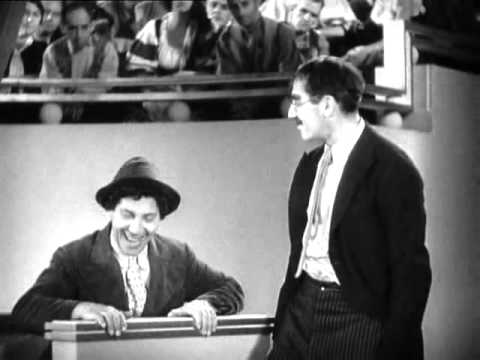 "Groucho Marx's classic ""Idiot"" line"