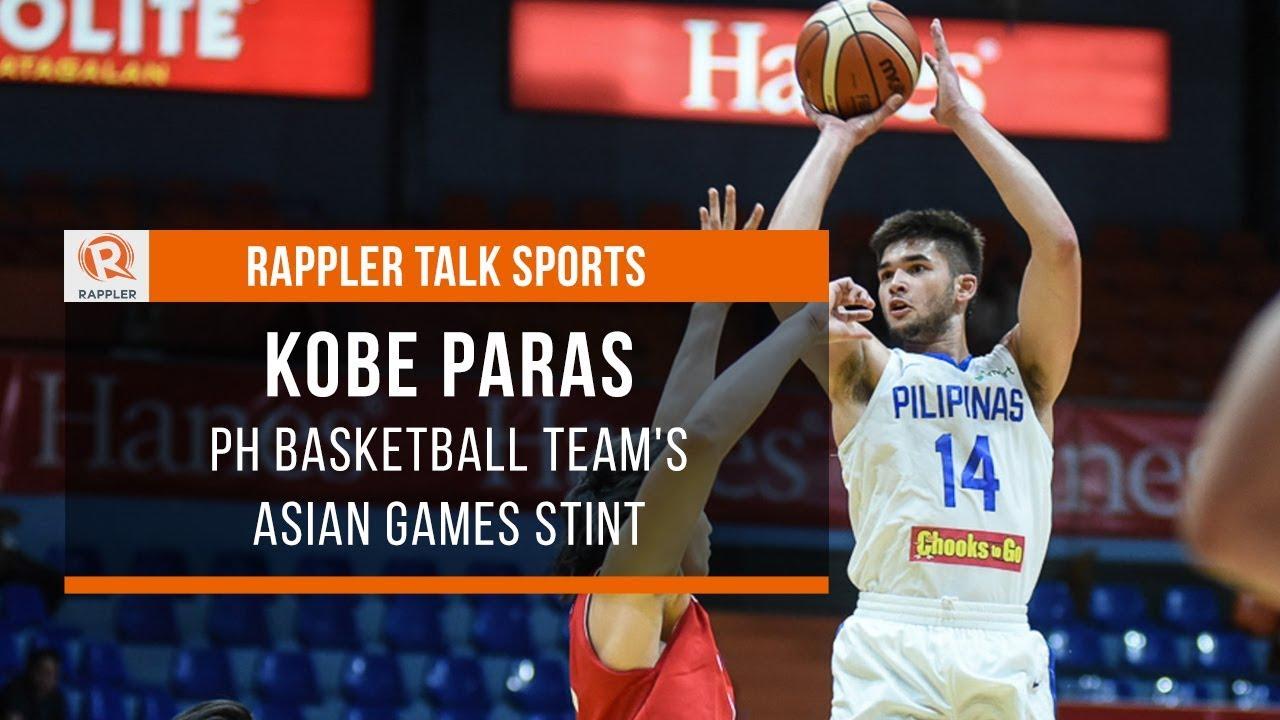23b9a8bc67c Rappler Talk Sports  Kobe Paras joins PH team to Asian Games - YouTube
