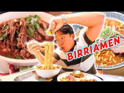 ¡¡PROBÉ EL BIRRIAMEN(Birria+Ramen)!! DELICIOSO Invento MEXICANO/JAPONÉS