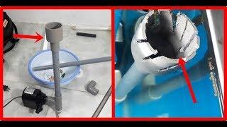 Thiết kế HÚT ĐÁY, HÚT MẶT cho máy bơm hồ cá!!!