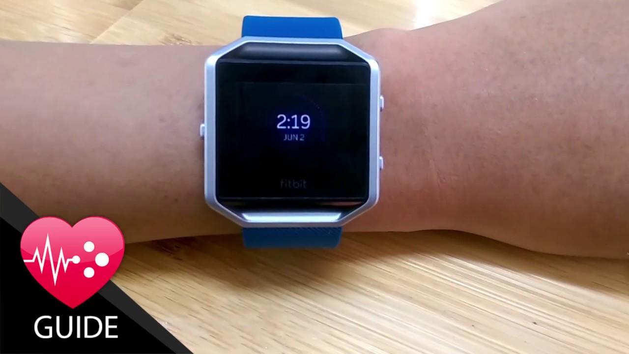 Video Tutorial How To Customize Fitbit Blaze Clock Face