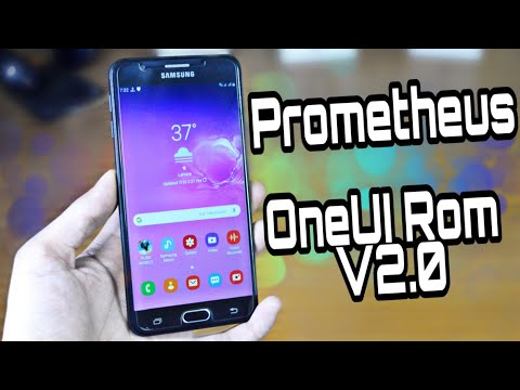 Prometheus OneUI Rom V2.0 For Galaxy J7 Prime G610X Installation & Review (Urdu/Hindi)
